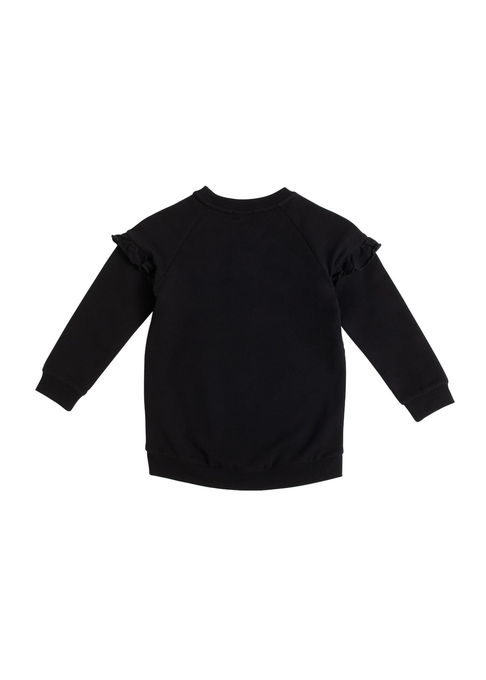 Miles Baby Miles Black Band Girls Sweatshirt