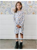 Tea Collection Tea Collection, Blush Bloom Peter Pan Collar Dress