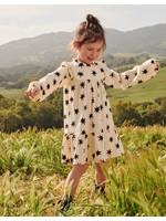 Tea Collection Tea Collection, Lucky Star Long Sleeve Babydoll Dress