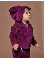 Tea Collection Tea Collection, Cosmic Berry Hoppy Day Baby Hoodie