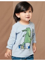 Tea Collection Tea Collection, Scenic Blue Stompin' Croc Baby Graphic Tee