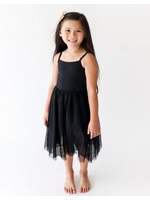 Lola & Taylor Lola & Taylor Parker Dress in Jet Black