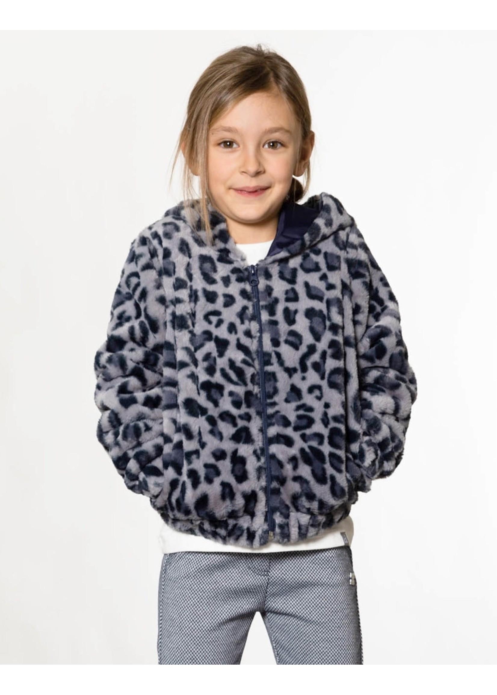 Deux Par Deux Deux Par Deux Super Soft Faux Fur Cardigan Jacket