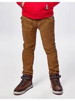 Mayoral Mayoral, Nogal Brown Jogger Pants with Pockets
