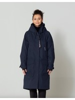 Go Soaky GoFrank, Ladies Cold Winter Long Parka With Fur Lining