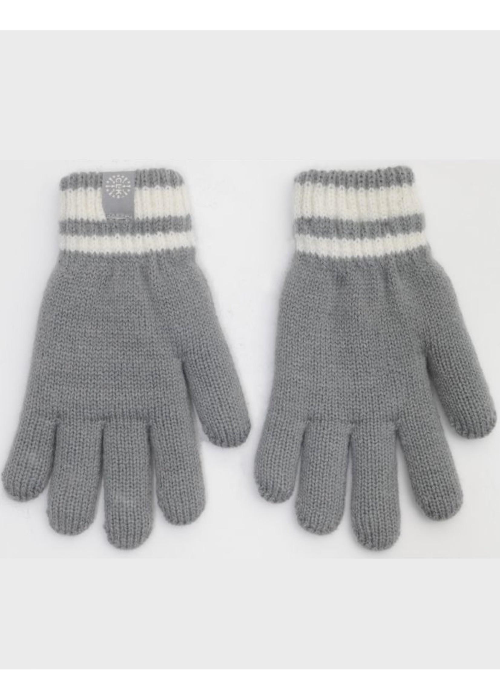 Calikids Calikids, Boys Knit Winter Gloves