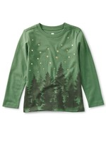Tea Collection Tea Collection, Lapland Forest Graphic Tee in English Ivy