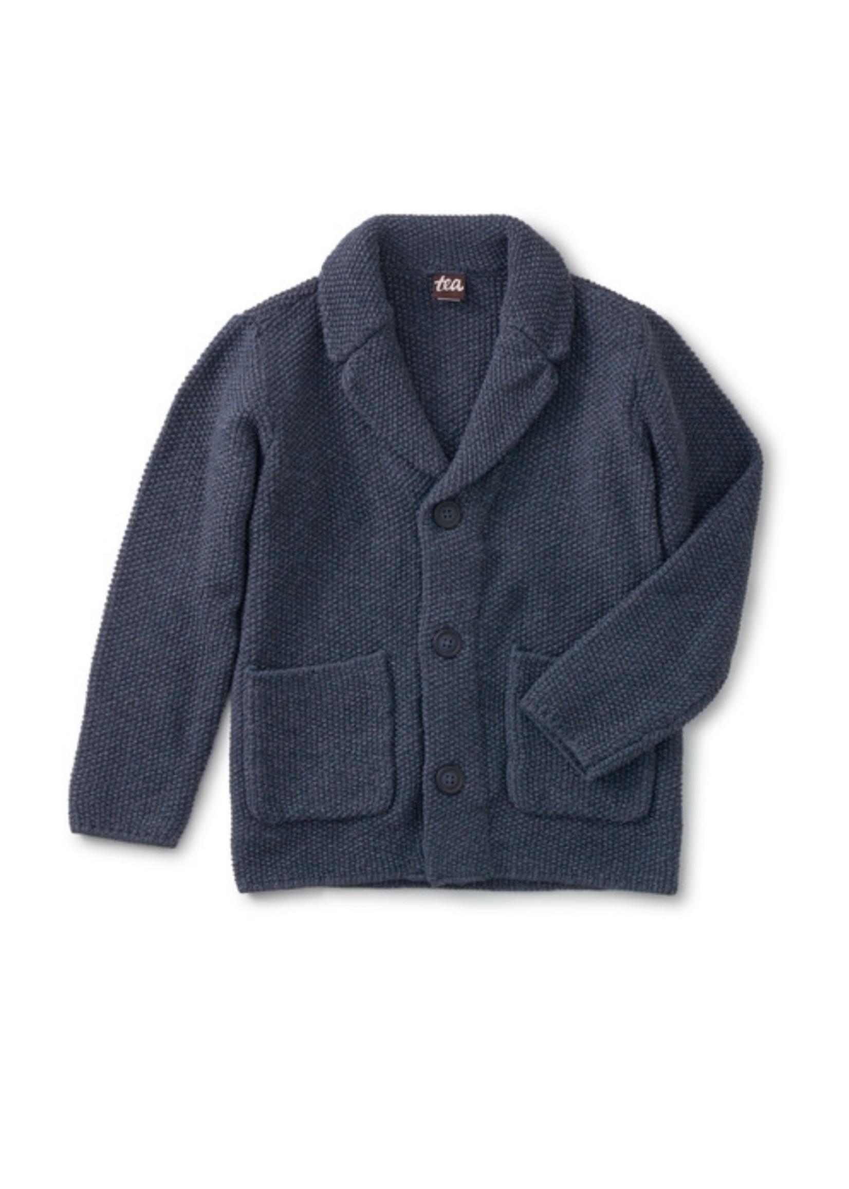 Tea Collection Tea Collection, Indigo Sweater Blazer