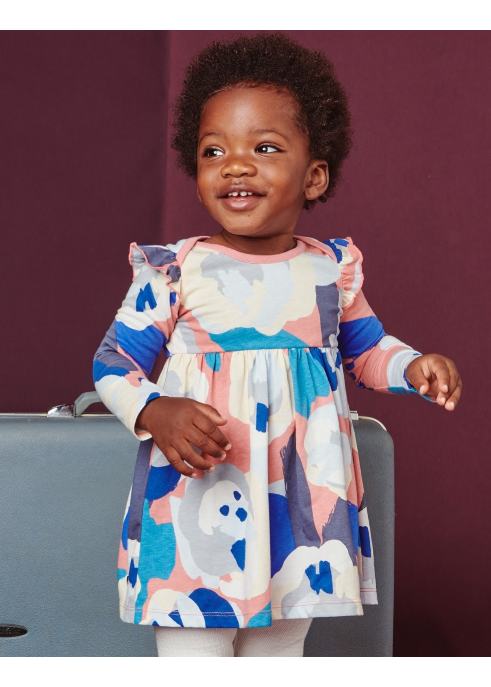Tea Collection Tea Collection, Super Bloom Baby Mighty Mini Dress