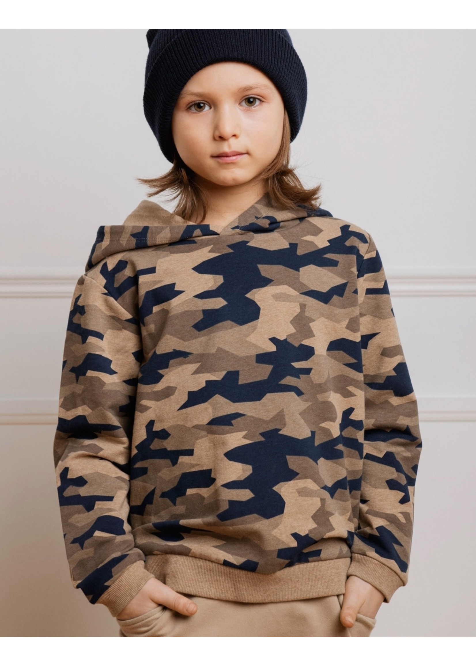 Miles the Label Miles The Label, Fall Camo Print Pullover Hoodie