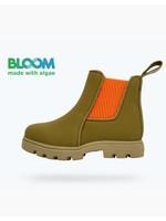 Native Shoes Native, Rookie Green/Elm Green/City Orange Kensington Treklite Bloom Child