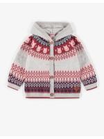 Souris Mini Souris Mini, Jacquard Hooded Knitted Vest