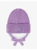 Souris Mini Souris Mini, Purple Knitted Baby Toque