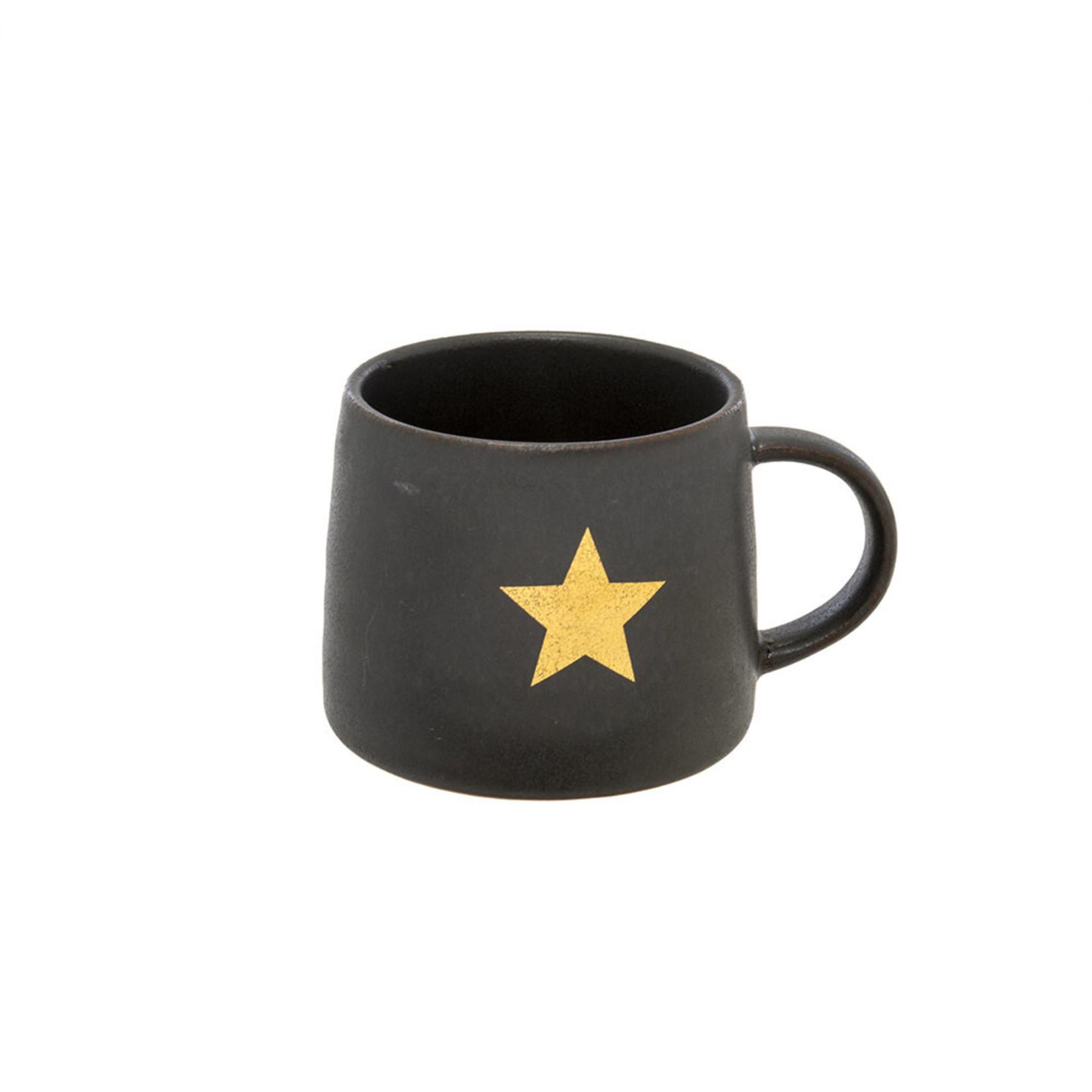 Gold Star Mug White