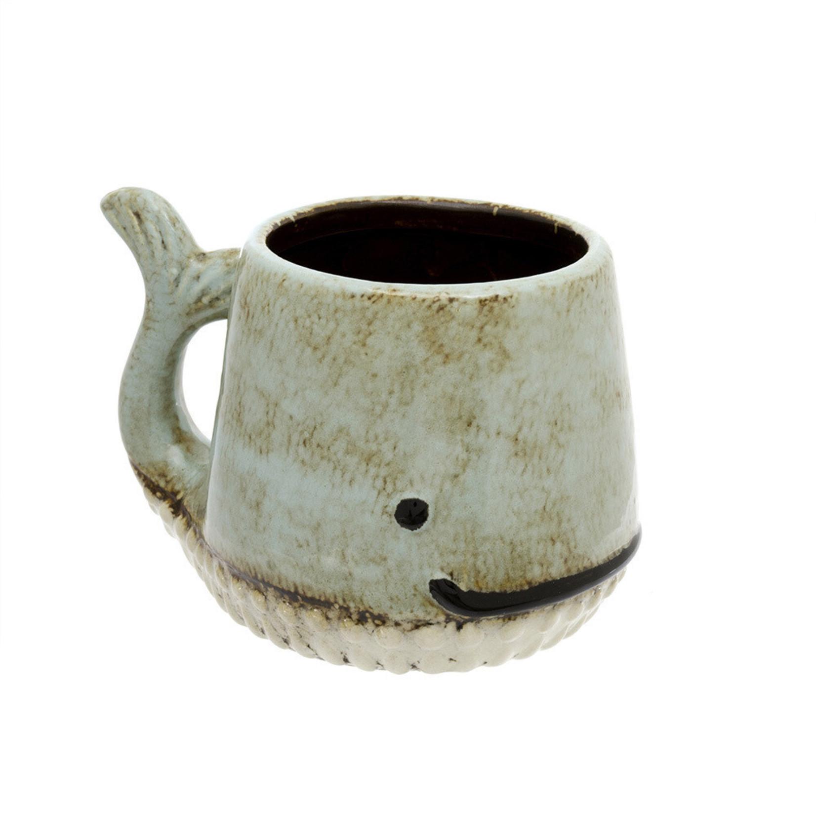 Whale Mug Aqua