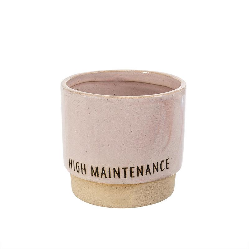High Maintenance Plant Pot