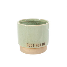 Root For Me Pot Green