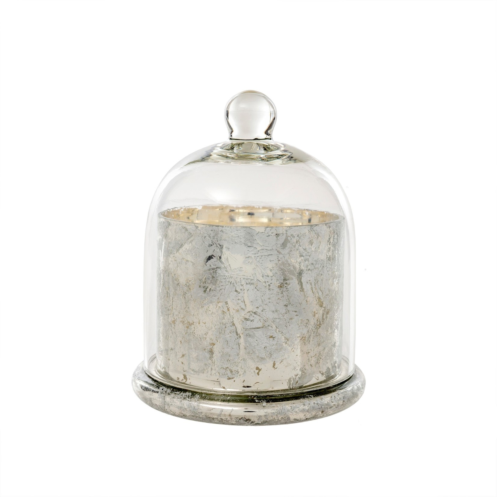 Cloche Candle Silver - Large