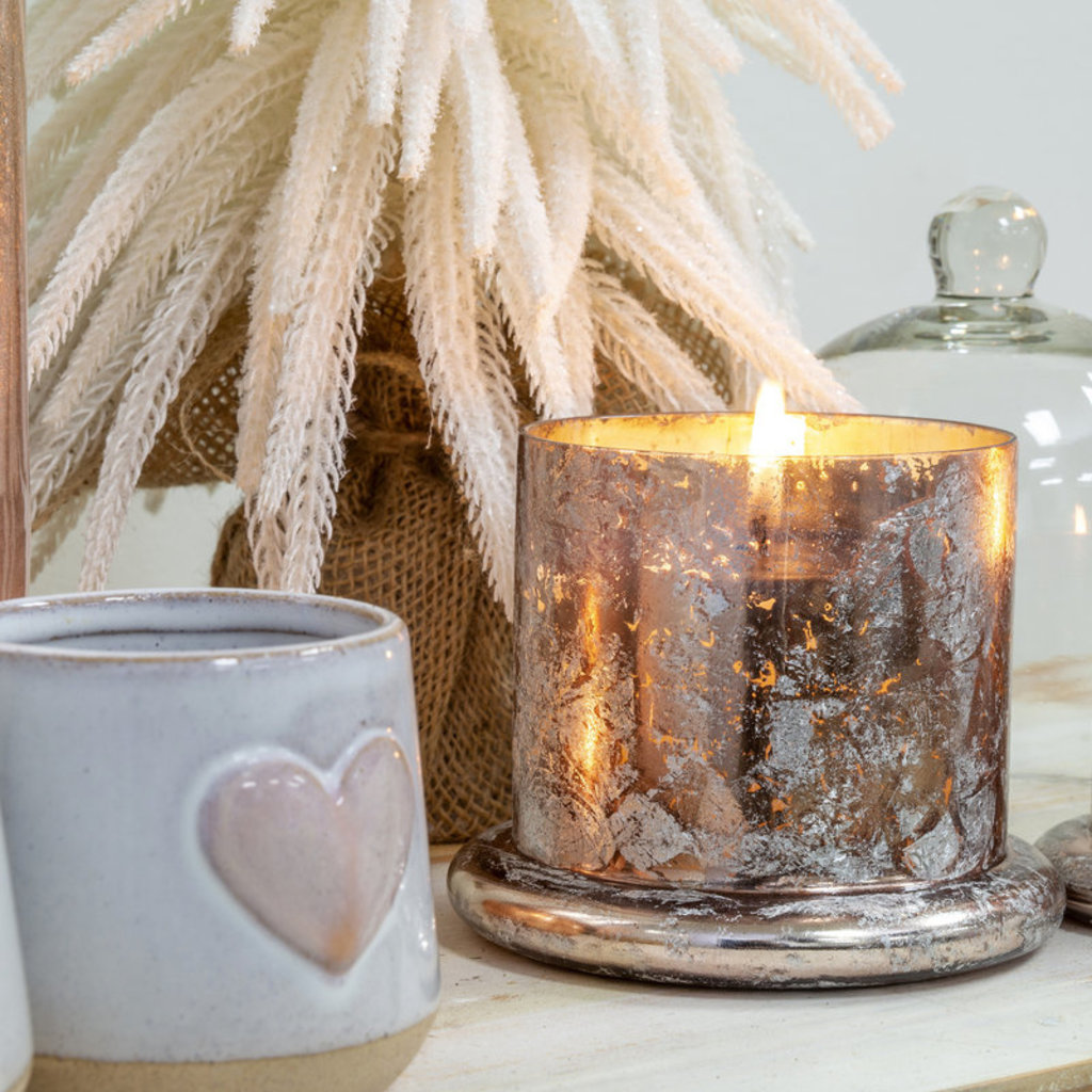 Cloche Candle Rose Gold L