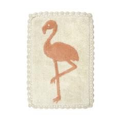 Flamingo Crochet Bath Mat