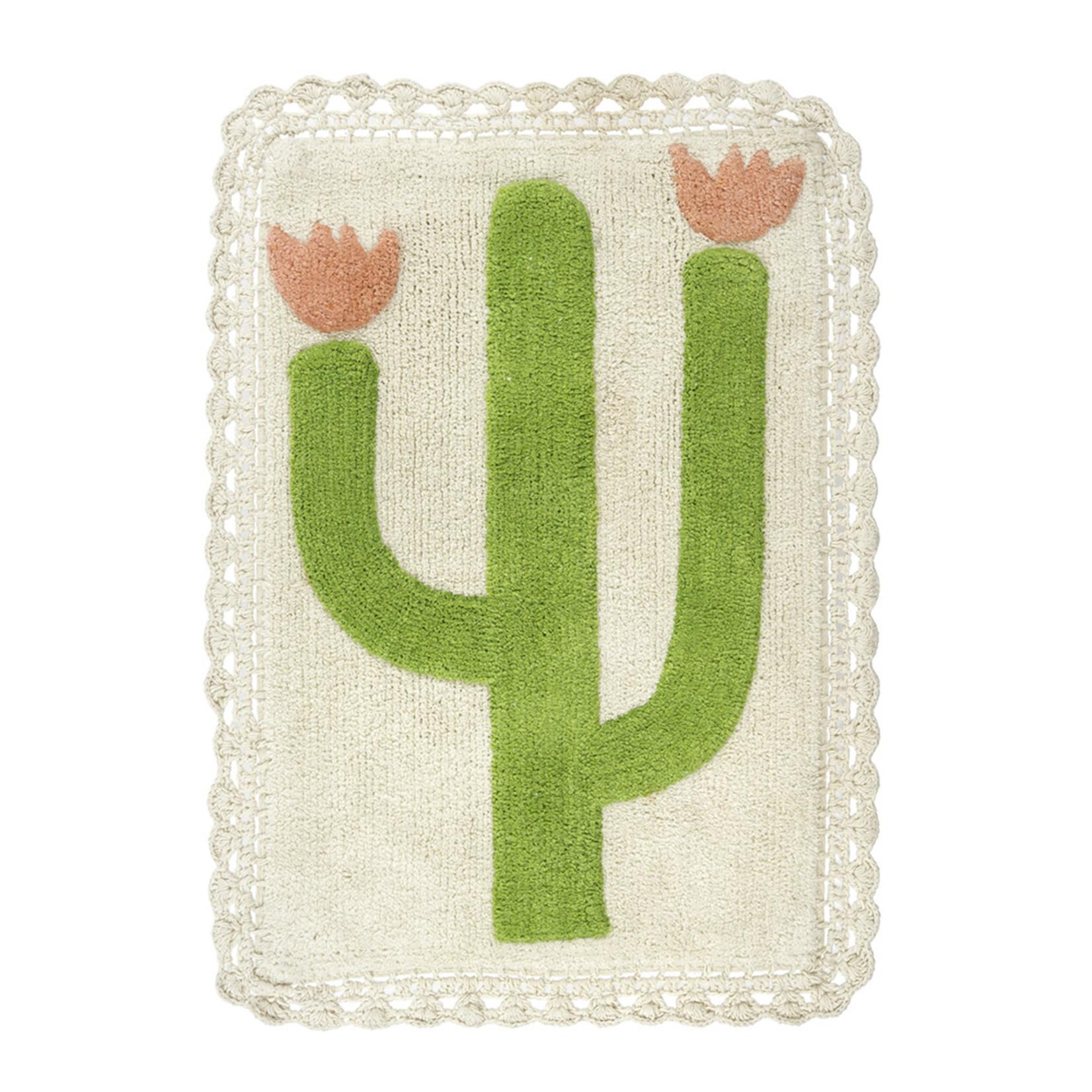 Desert Rose Crochet Bath Mat