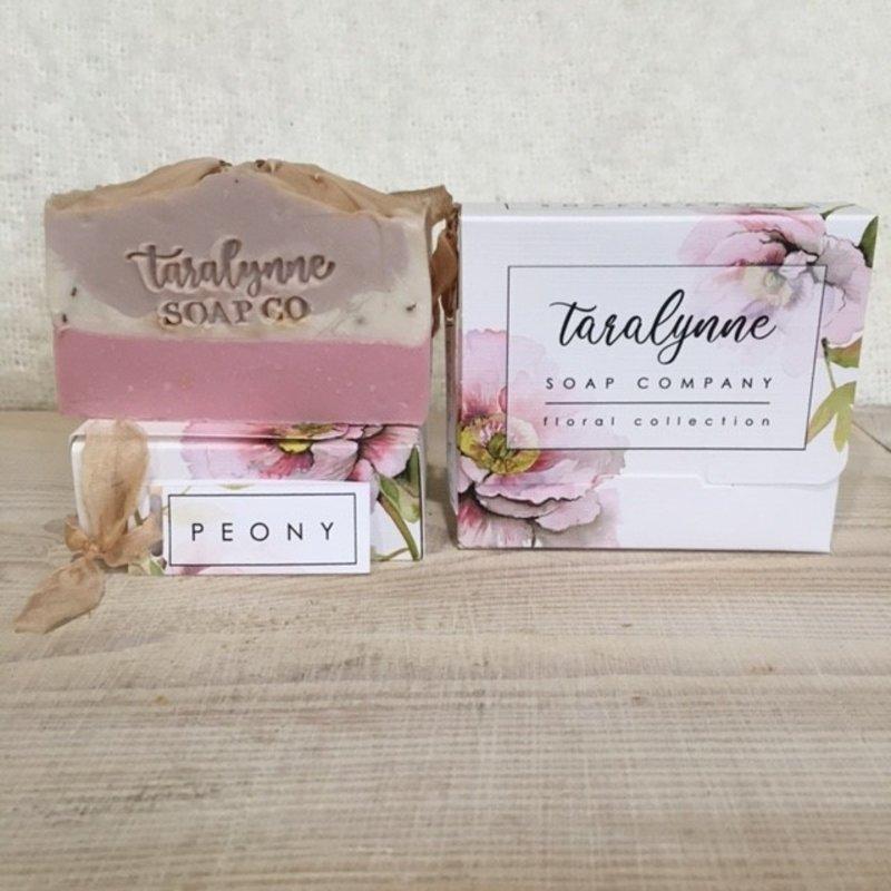 Tara Lynne Peony Soap