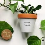 Choose Happy Pot