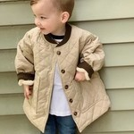 Quilted Jacket - Sand