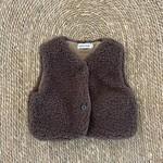 Teddy Bear Vest - Chocolate
