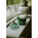 Balsam and Rose Luxe Green Candle - Westcoast Scent