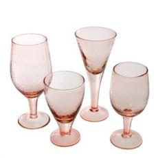 Valdes Water Glass Pink