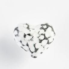 Knob Iron/White Heart