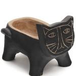 Cache Pot Cat Black