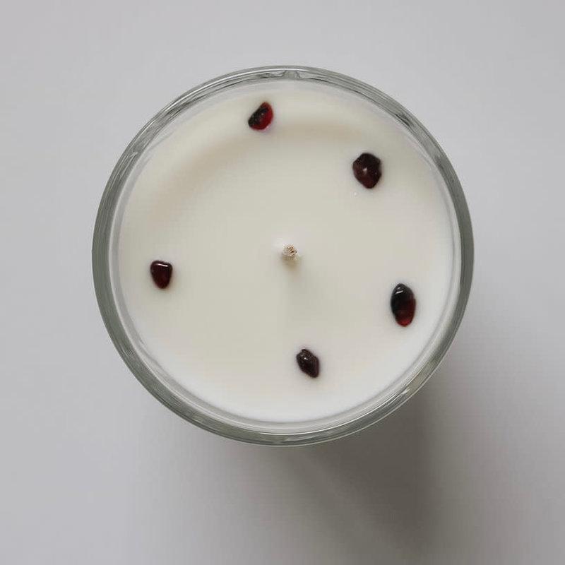 AuraTae Garnet Candle - 6 oz
