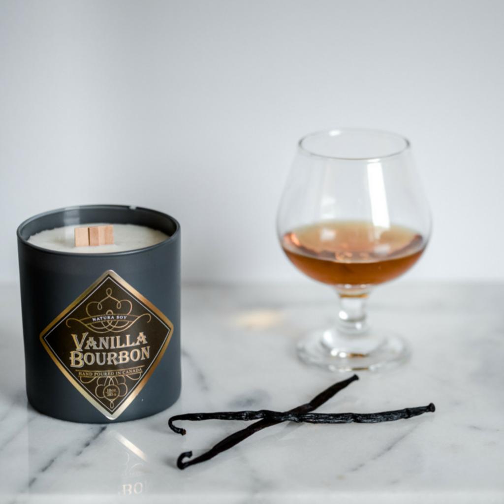 Natura Soy | Vanilla Bourbon Candle 10oz