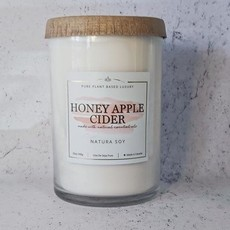 Natura. Honey Apple Cider Pillar Candle 25oz