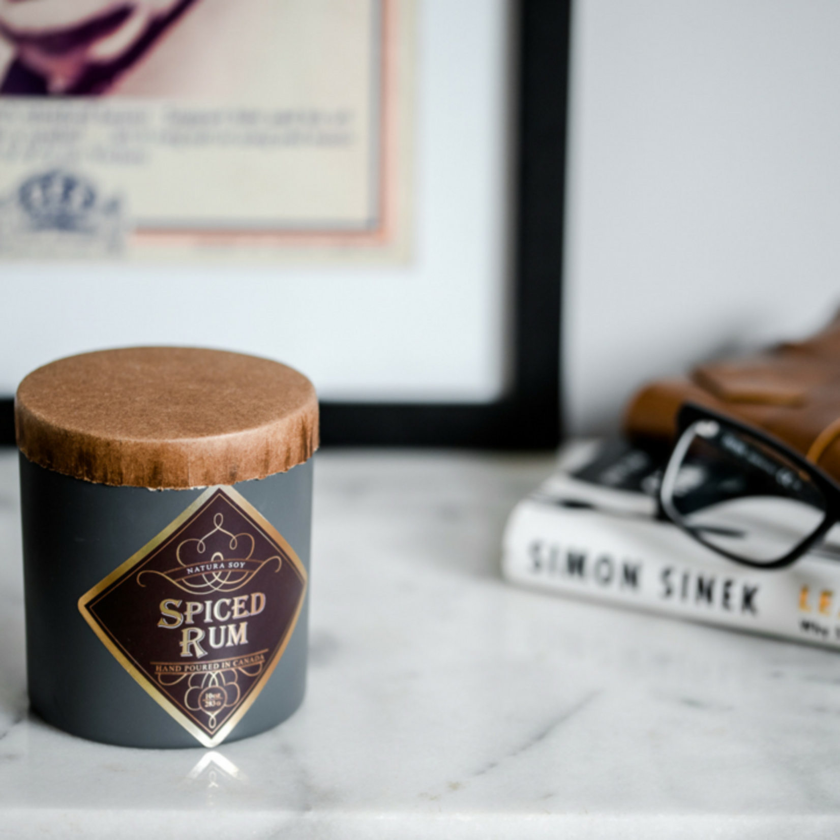 Natura. Spiced Rum Candle 10oz