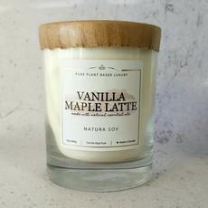 Natura. Vanilla Maple Latte Candle 10oz