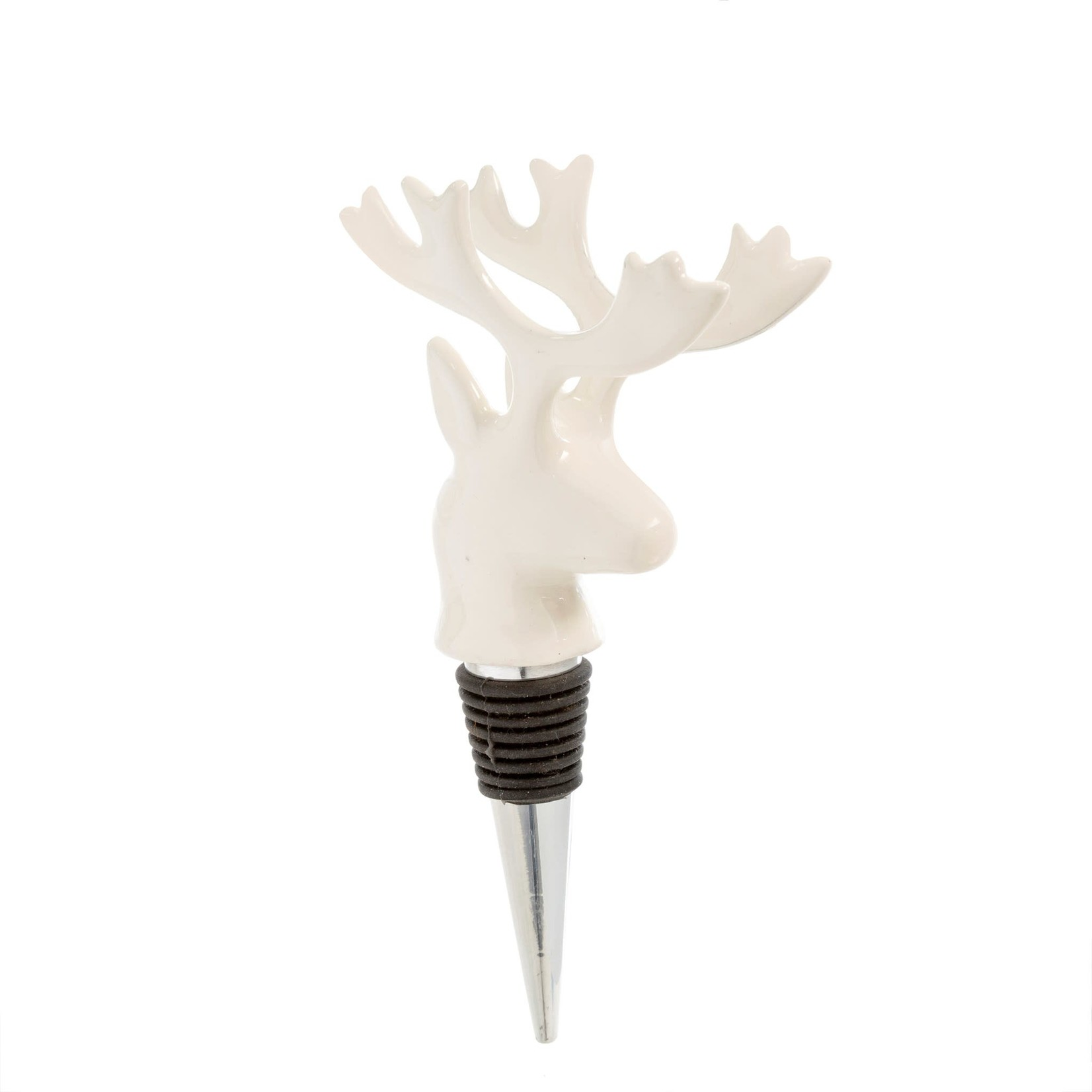 White Stag Bottle Stopper