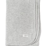 Stretch Knit Swaddle Blanket - Heather Grey