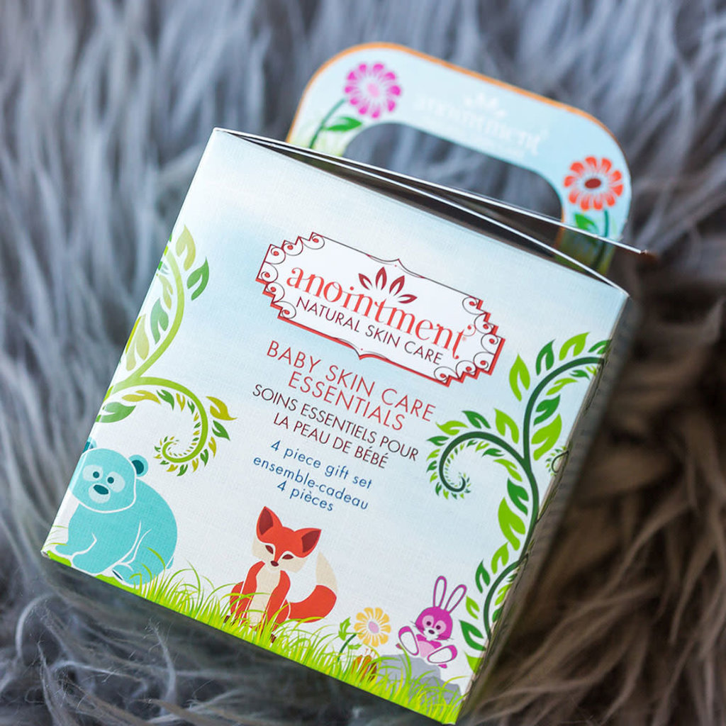 Anointment Natural Skin Care Baby Essentials Gift Set