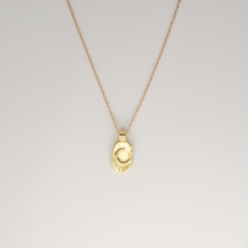 JBA. Gold Moon Necklace