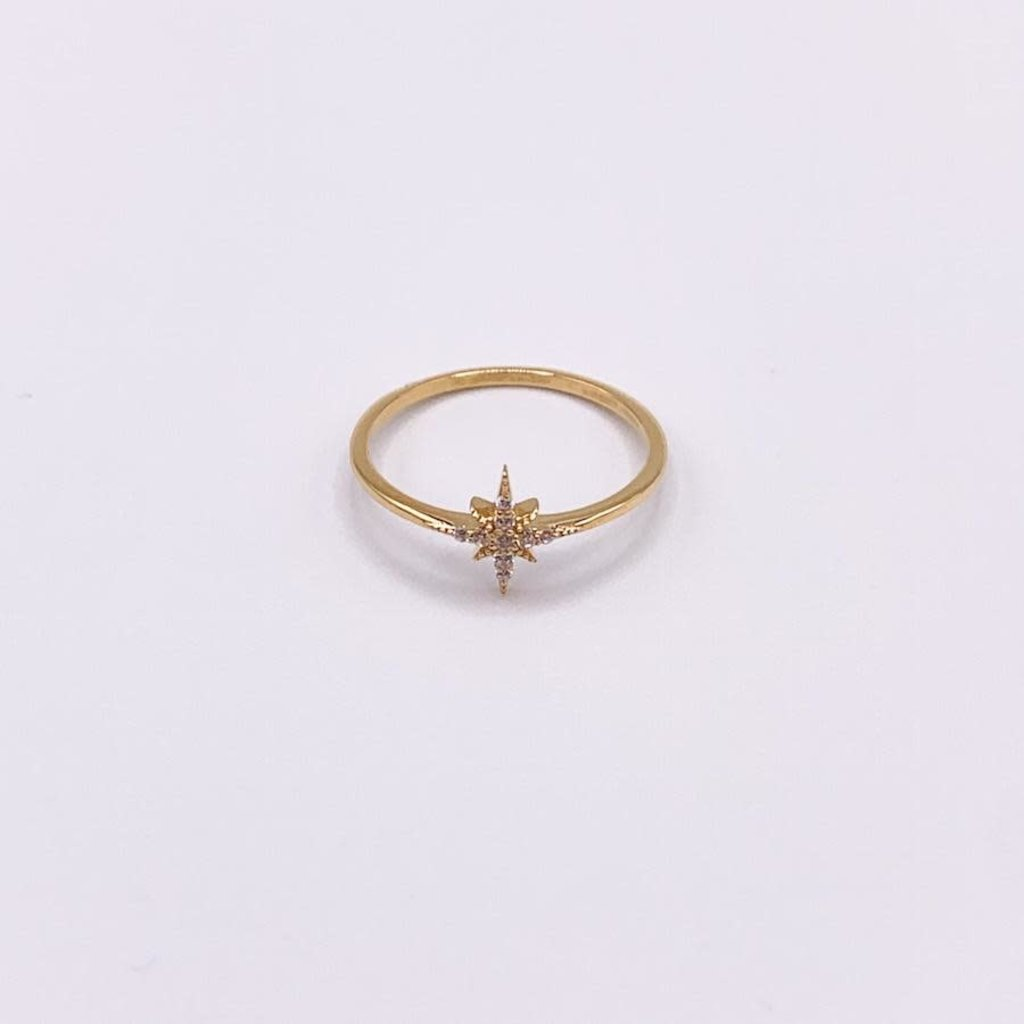 JBA.  Delta Star Ring Gold