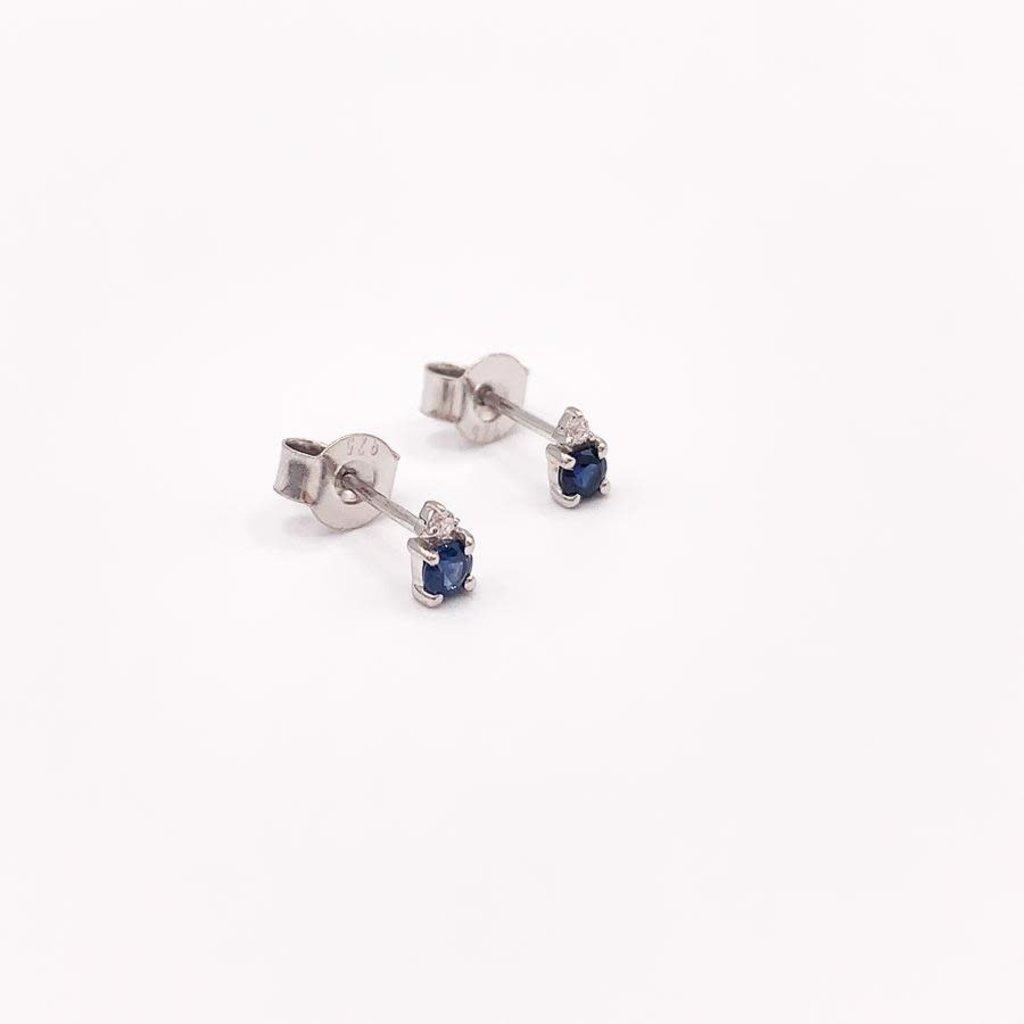 JBA. Sapphire Earrings