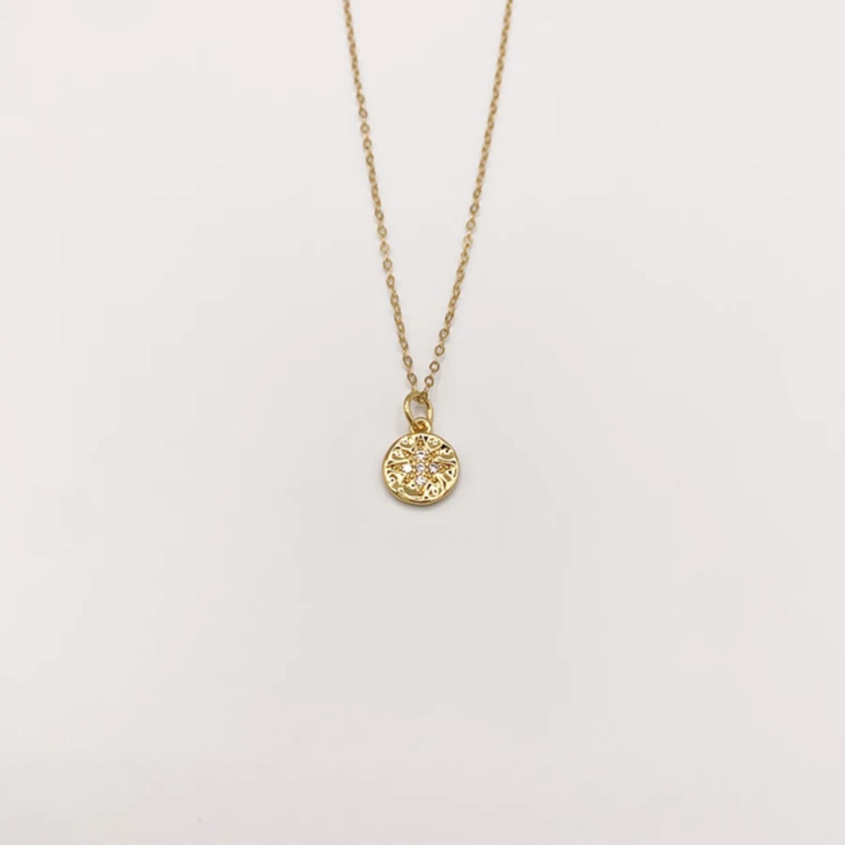 JBA. Gold Stargate Necklace