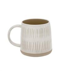 Sandstone Mug Stripes
