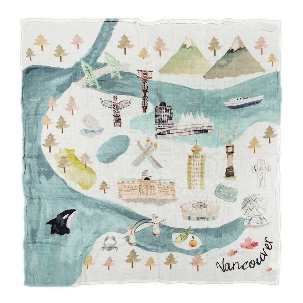 Muslin Quilt Blanket - Vancouver
