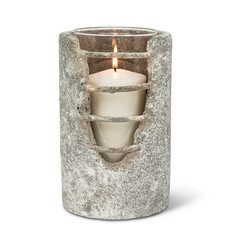 Grid Cylinder Candle Lantern