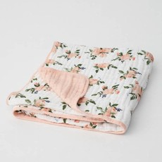 Little Unicorn - Watercolor Roses Quilt