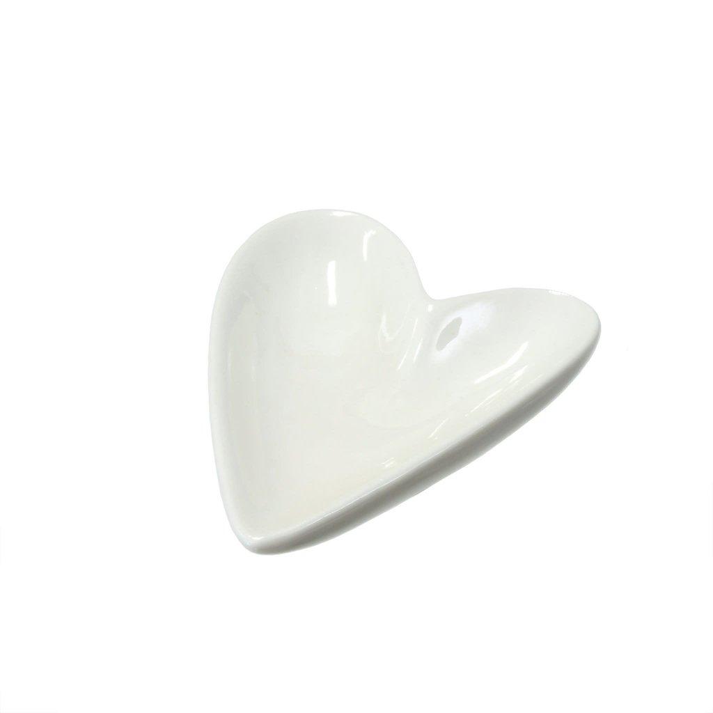 Porcelain Heart Dish Small